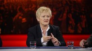Grünen-Bundestagsabgeordnete Renate Künast
