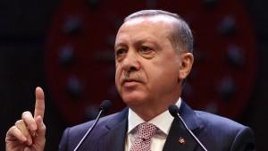 Erdogan warnt vor Terrorkorridor an türkischer Grenze