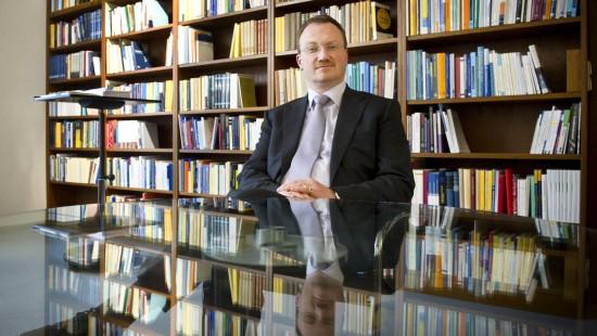 Lars Feld, der Sieger im F.A.Z.-Ökonomenranking.