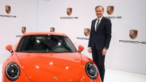 Ermittler durchsuchten Büro des Porsche-Chefs