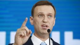 Nawalny darf nicht zur Wahl antreten