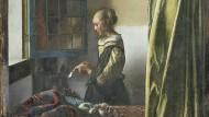 """Johannes Vermeer malte seine """"Brieflesendes Mädchen am offenen Fenster"""" in den Jahren 1657 bis 1659."""