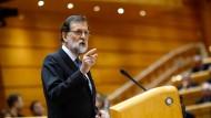 Rajoy wirbt für Entmachtung von Kataloniens Regierung