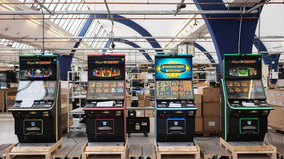 Es gibt gut 220000 Spielautomaten in Deutschland.