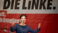 Linke kämpft um Platz drei und Politikwechsel im Bundestag