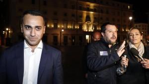 Rom geht im Haushaltsstreit auf Brüssel zu