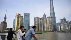 Nun wird in Schanghai verhandelt