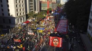 Massenproteste in Brasilien