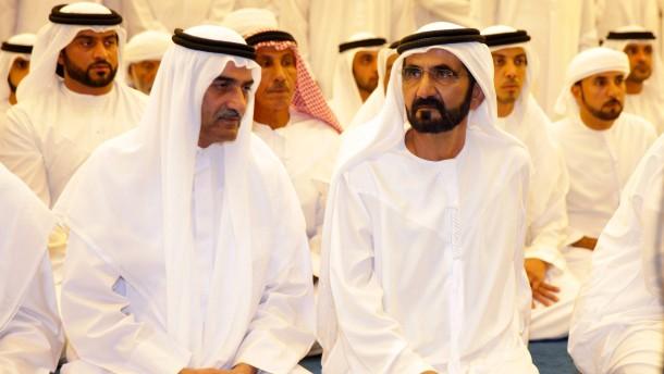 Frau des Emirs von Dubai flüchtet vor ihrem Mann