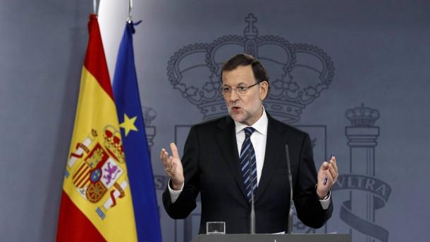 Rajoy gesteht Katalanen kein Referendum zu