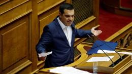 Griechenlands Parlament spricht Tsipras Vertrauen aus