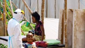 Ebola auch im Kongo ausgebrochen