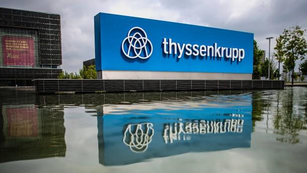 Thyssen-Krupp steigt aus dem Dax ab - MTU rückt auf