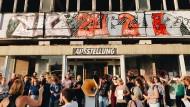 """Im Berliner """"Haus der Statistik"""" sollen Politik, Bildung, Arbeit und Wohnen auf neue Weise zusammenkommen."""