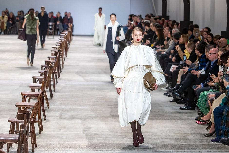 Fashion Show von Jil Sander während der Mailand Fashion Week für Herbst/Winter 2020/21.