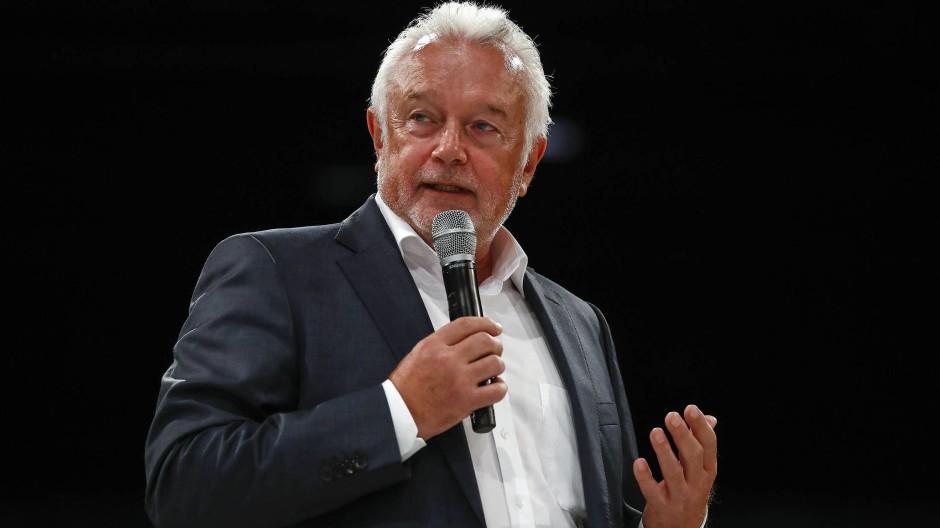 Hat sich eine schwierige Zahl ausgesucht: Bundestagsvizepräsident Wolfgang Kubicki