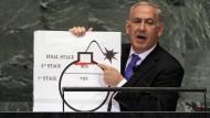 Netanjahu übertrieb bei iranischem Atomprogramm