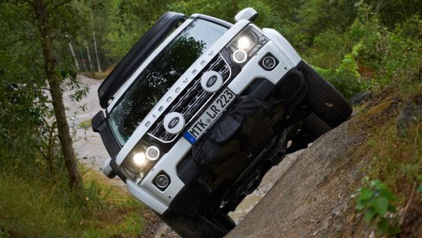 Offroad mit dem land rover gel ndewagen for Bodenbeschaffenheit deutschland