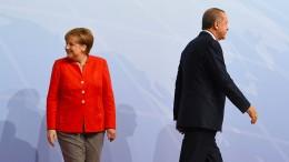 Merkel bleibt Staatsbankett mit Erdogan fern
