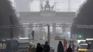 Berliner Polizei bereitet sich auf Silvester vor
