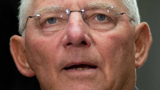 Schäuble: Investitionen ohne Steuererhöhungen möglich