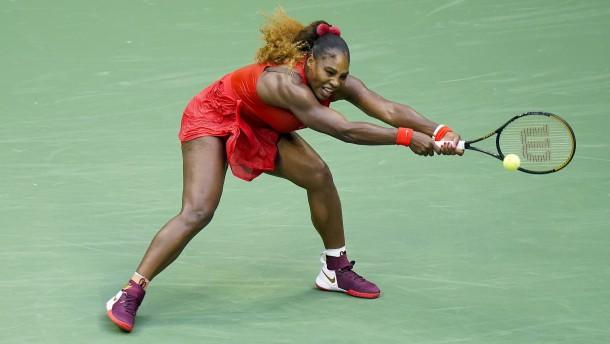 Rekordsieg für Serena Williams, Kohlschreiber scheidet aus