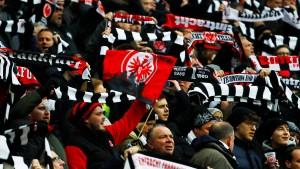Uefa untersagt Eintracht-Choreographie