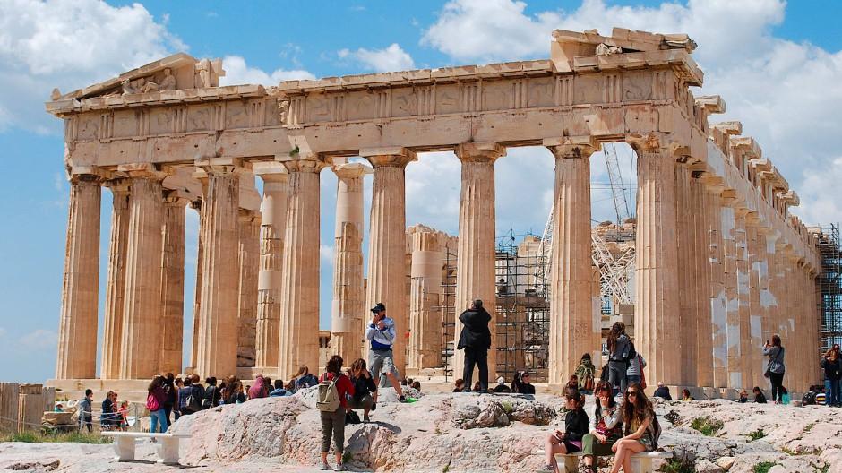 Die Akropolis in Athen, Griechenland (Archivbild)