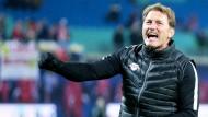 Leipzig will Spitzenreiter bleiben