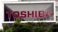 Zentrale des japanischen Elektronikkonzerns Toshiba in Tokio