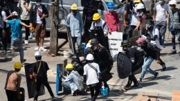 Zahlreiche Tote bei Protesten
