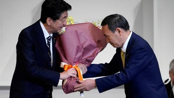 Der designierte Ministerpräsident Japans steht fest