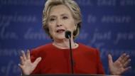 Hat ihren privaten E-Mail-Server für Dienstmails verwendet: Hillary Clinton