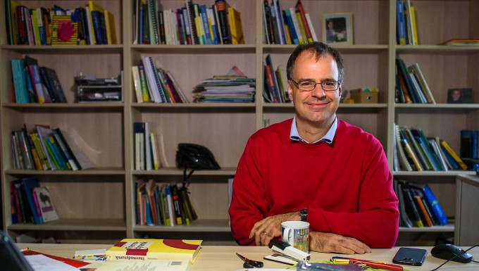 Physik-Professor Frank Wilhelm-Mauch von der Universität des Saarlandes