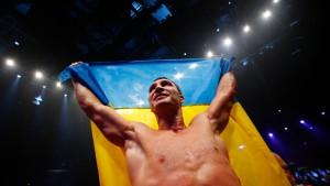 Klitschko ist auf dem Gipfel
