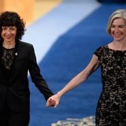 Ausgezeichnete Teamarbeit: Die beiden Chemie-Nobelpreisträgerinnen Emmanuelle Charpentier (links) und Jennifer Doudna