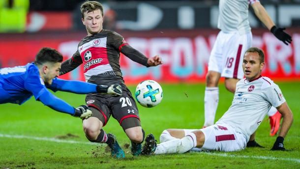 FC Nürnberg verpasst Sprung an Tabellenspitze