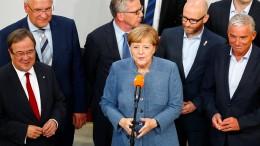 Merkel kleinlaut, Gauland obenauf