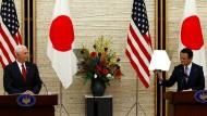 Amerika und Japan mit klarer Warnung an Nordkorea: Alle Optionen denkbar