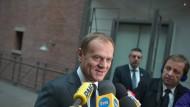 Tusk nennt Grexit idiotisches Szenario