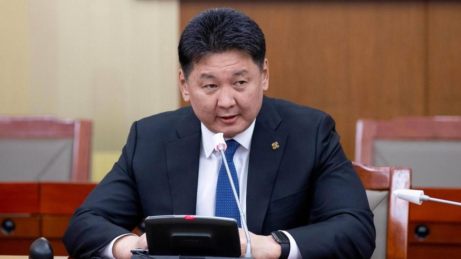 Mongoleis Ministerpräsident Khurelsukh Ukhnaa ist zurückgetreten