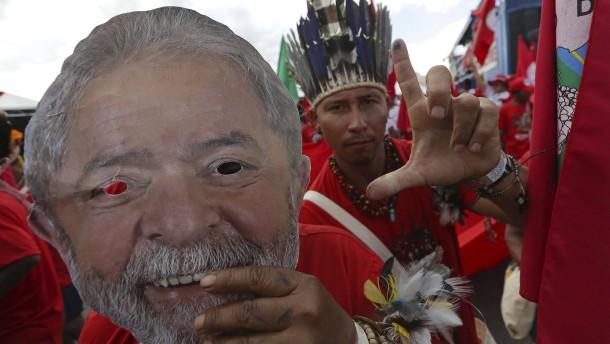Brasiliens ehemaliger Präsident Lula darf nicht kandidieren