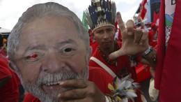Brasilianer gehen für Lula auf die Straße