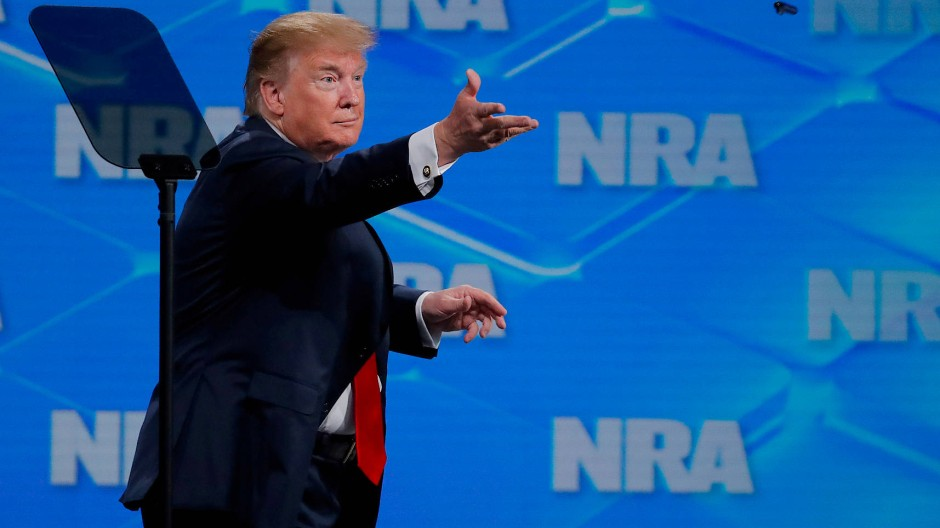 Trump will internationalen Waffenhandelsvertrag kündigen