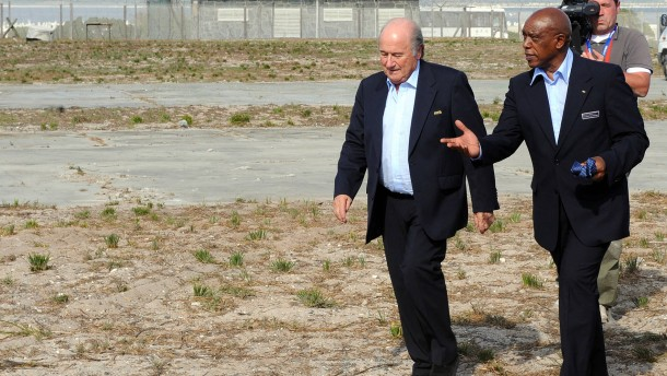 Mandelas Freund als Blatter-Nachfolger?