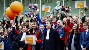 Klimaaktivisten siegen gegen Regierung vor Gericht