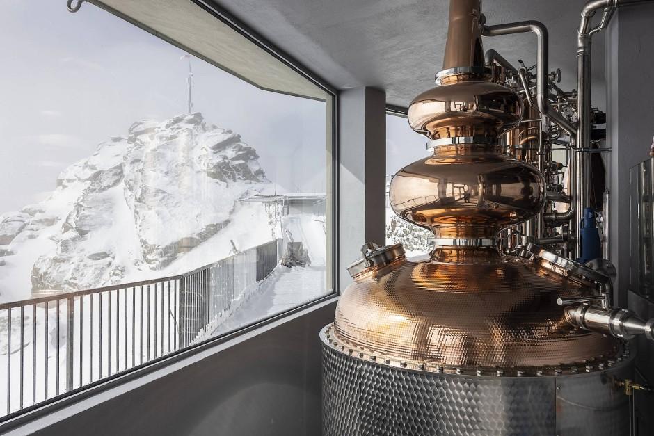 Whiskymanufaktur Orma im Oberengadin ist die höchstgelegene Destillerie der Welt.