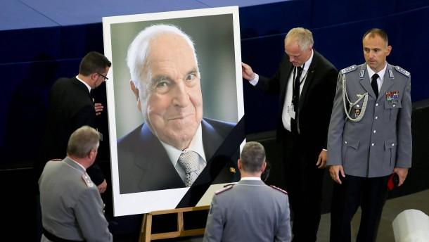 Schwan: Kohl wollte einen Staatsakt in Deutschland