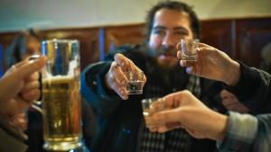 Wie man Russen die Freude am Trinken austreibt
