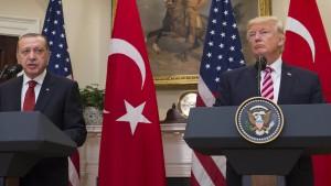 Deutliche Differenzen zwischen Trump und Erdogan